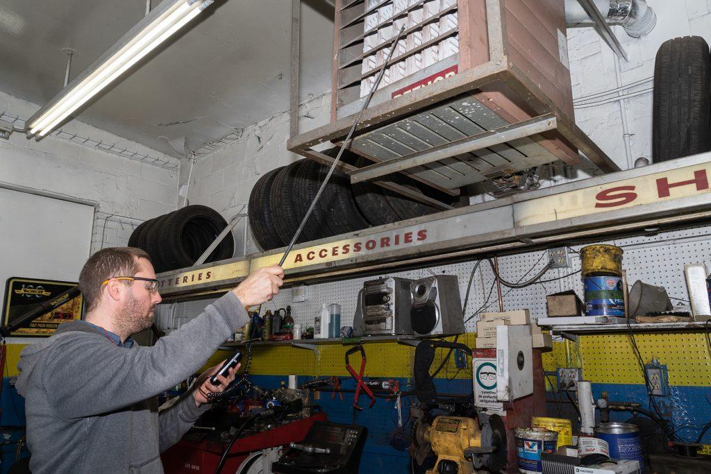 inspection et measures de ventilation